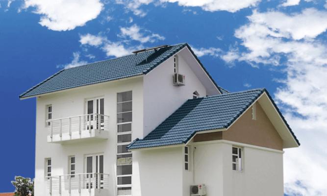 Tùy thuộc vào từng công trình cụ thể sẽ có cách tính độ dốc mái khác nhau