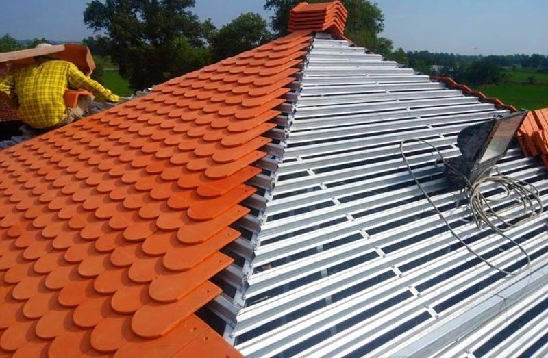 Thi công lợp mái phải tuân thủ theo bản vẽ kiến trúc mái nhà
