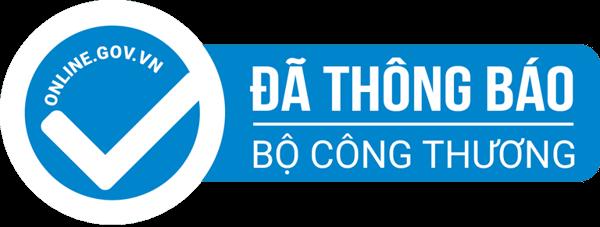 Logo da thong bao website voi bo cong thuong vietroof.vn