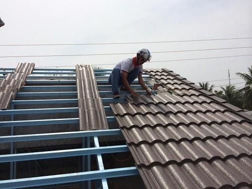 Thi công mái ngói giá rẻ tại Hưng Yên