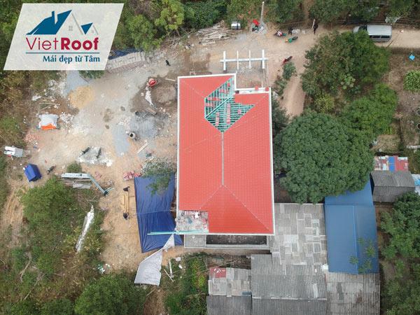 Thi công mái ngói tại Thái Bình uy tín chất lượng
