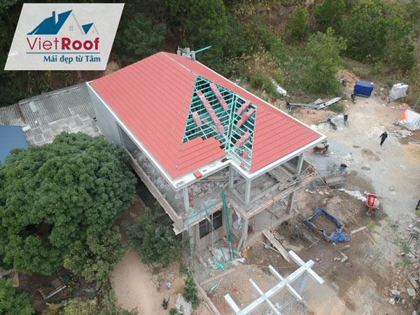 thi công mái ngói tại Thái Nguyên