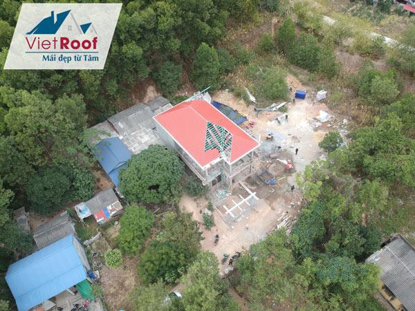 Dịch vụ thi công mái ngói trọn gói tại Hà Nam