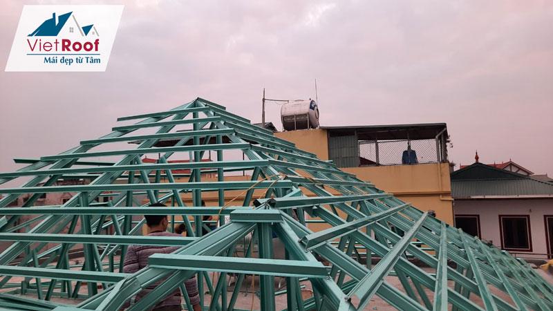 Thi công mái ngói trọn gói tại Lạng Sơn